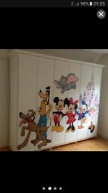 Disney Mickey mouse large wardrobe