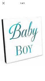Baby boy led light.