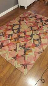 Roman Tufted Woven Rug (urban outfitters)