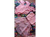 Girls ballet bundle. Leotards, skirt, cardigan. Excellent condition.