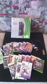xbox 360 great condition with games
