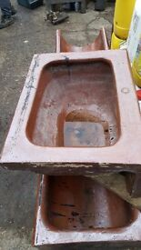 Antique salt glazed trough