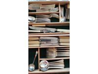 Canteen of Viceroy Silver Plated Cutlery. 64 pieces for 6 place settings.