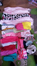 Girls 1-2 years clothes bundle in good condition 28 items