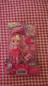 BNIB Shopkins Shoppies Pirouetta doll