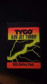 TYCO 6V Jet Turbo Battery Pack