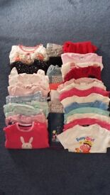 Bundles of clothes: First size/0-3mths/3-6mths/6-9mths/9-12mths/12-18mths