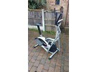 Cross trainer/exercise bike V.G.C Full working irder