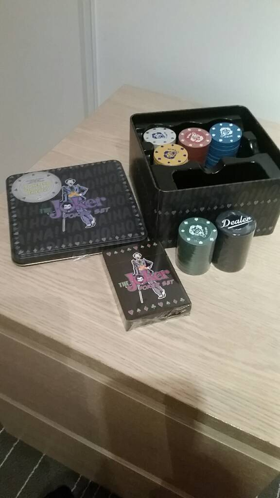 Poker set (joker themed)