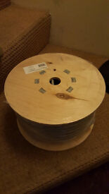 50m Reel - 6242Y Twin & Earth Electrical Cable 10mm² x 25m Grey