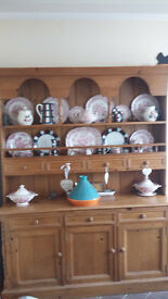 Large Pine Welsh Dresser