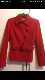 Red Jacket as new size 12 by George