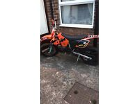 ROAD LEGAL KTM SX 125 04