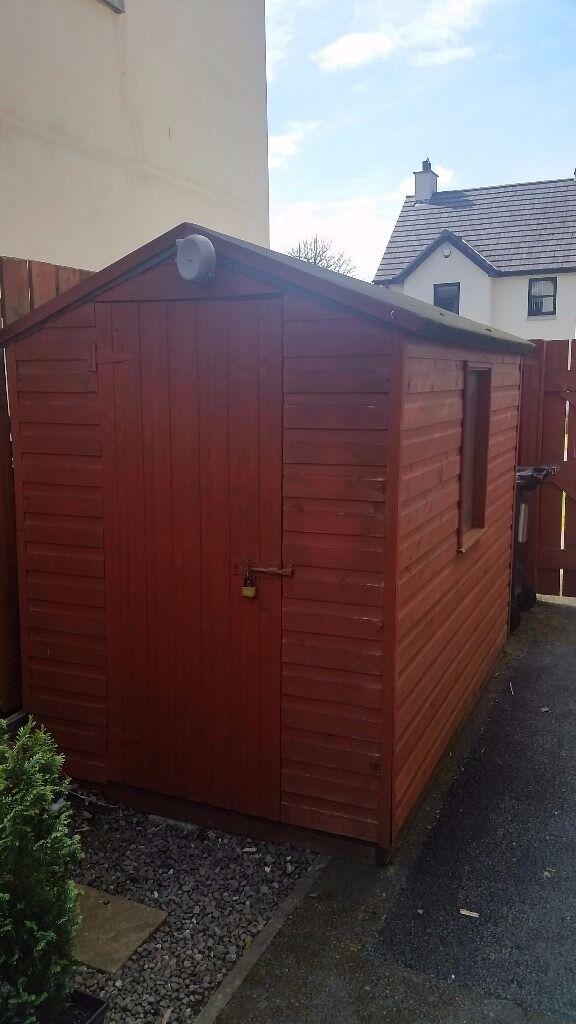 Garden Sheds 8 X 5 timber t&g garden shed 8'x 5'   in saintfield, county down   gumtree