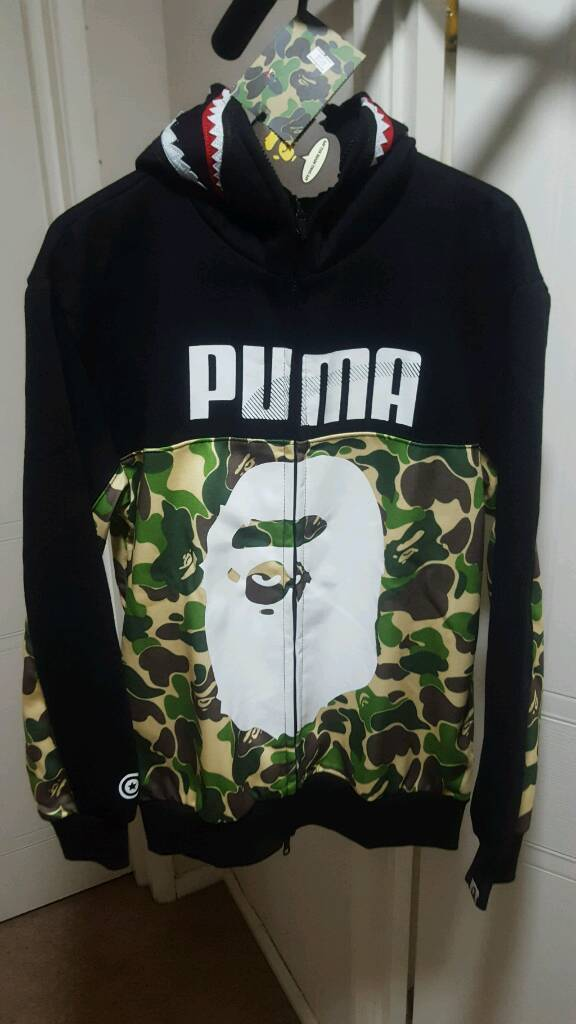 04da5940d22e Mens Bape X Puma Jacket Medium