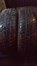 Two tyres 165/65/13