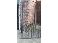 Wrought iron garden gate £20
