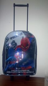 wheeled case for boys - spider man