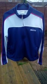 Ellesse girls full zip track top