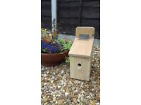 Handmade Wooden Bird Boxes