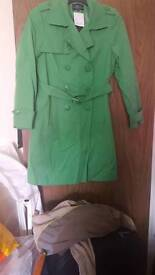 Womens green petite Collection Jacket Size 14