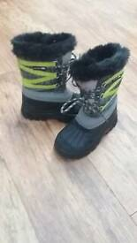 Snow boots size 11