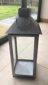 John Lewis Silver Lantern