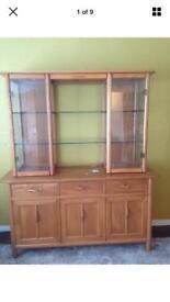Ercol Display Cabinet Sideboard