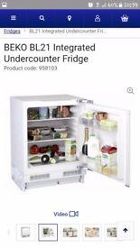 Beka bl21 intergrated fridge