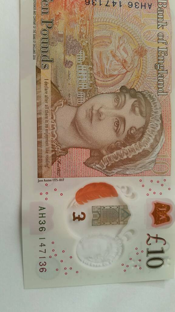 new 10 pound note