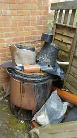 Bitumen boiler and accessories