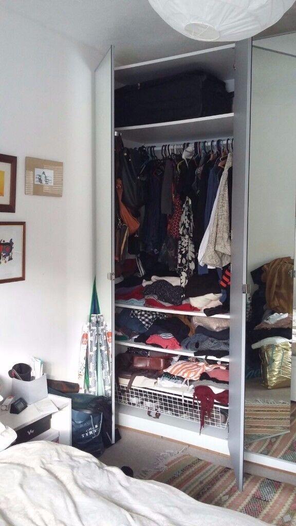 Ikea Mirror Door Pax Wardrobe For E11