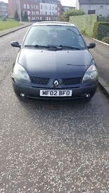 RENAULT CLIO 1.2 MOT EXPIRE END FEB 18 FULL SERVICE HISTORY LOW MILAGE