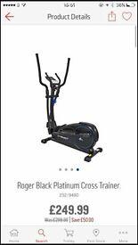 Cross trainer - Like new, with HR Sensor