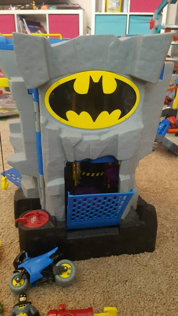 imaginext batman cave and superman in norwich norfolk gumtree