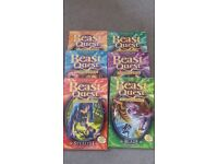 6 beast quest (the amulet of avantia) reading books