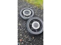 Honda cbf 600 wheels and tyres