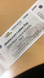 Down royal ladies day tickets