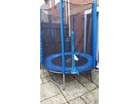Nearly new 6 ft trampoline!!