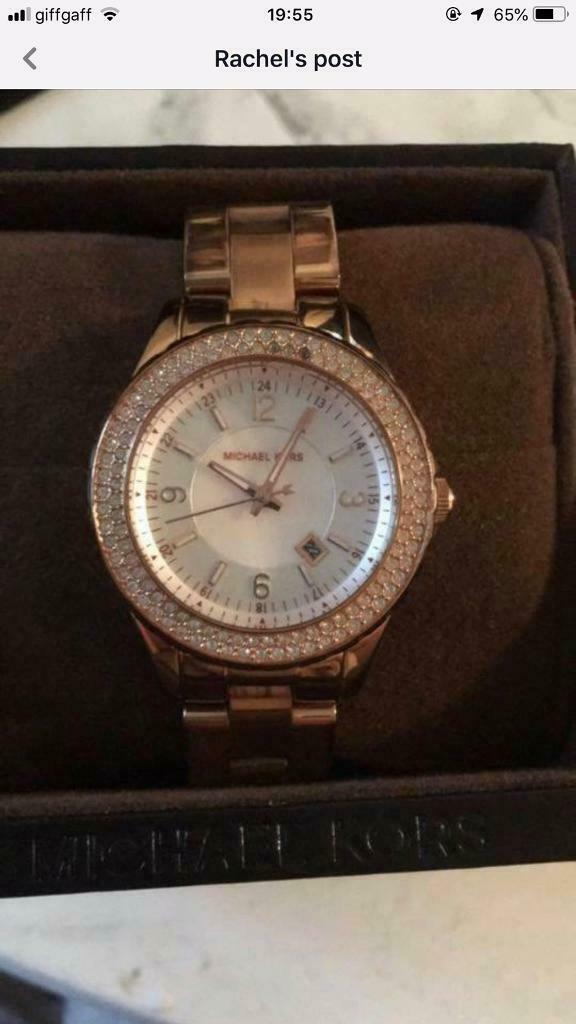 07832fe15cf0 Genuine Michael kors watch. Consett