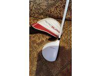 Aeroburner mini driver golf club. Taylormade 16 degree loft mini driver.used but good condition.