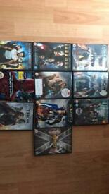 Marvel collection dvds