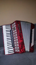 Keyboard accordion