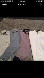 4 x men's shirts