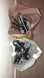 Mixed clothes hangers