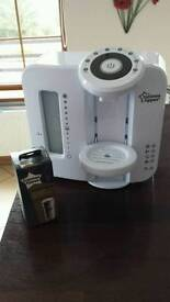 Tommee tippee Perfect prep machine.