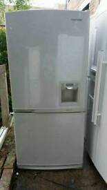 Fridge freezer Samsung fully working 7 months guarantee and free delivery