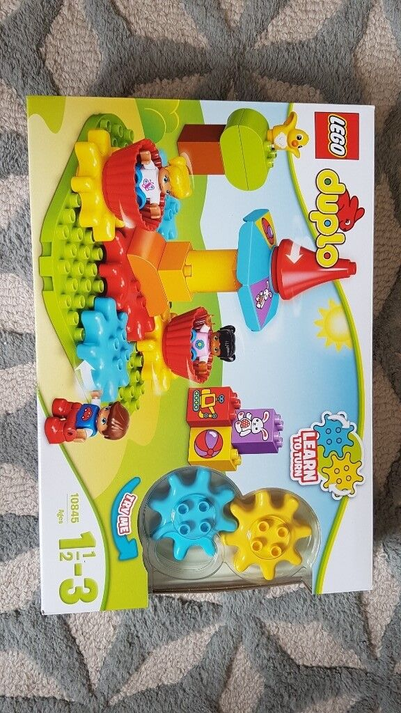 Reduced Lego Duplo Learn To Turn My First Carousel Roundabout Brand