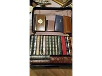 Job-lot of 21 Vintage books - Churchill, Dickens, Steinbeck, Lord Moran and more