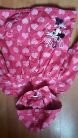 NEW Mickey Mouse Baby Girl Lovely Pink Coat Jacket 2-3 years